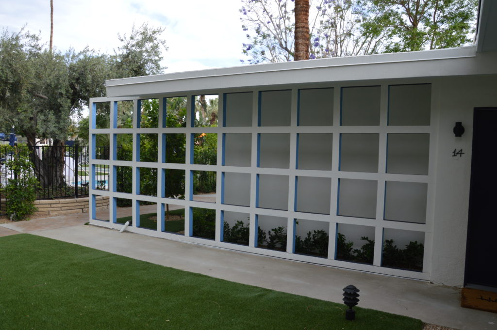 Painting The Holiday House Palm Springs CA.