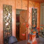 Orange Marbal Look Painting Services