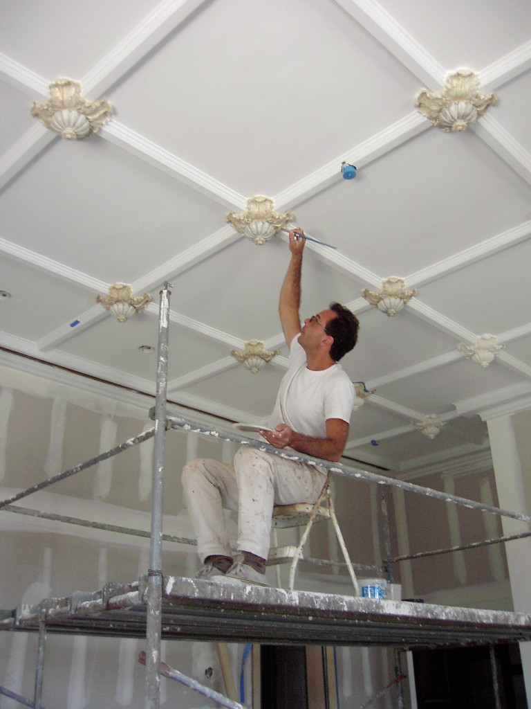 White Ceiling Painting Good Painter